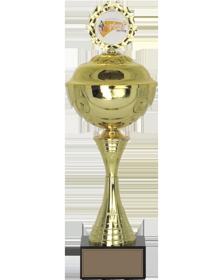 Altın Kaplamalı Kapaklı Kupa - MK 03