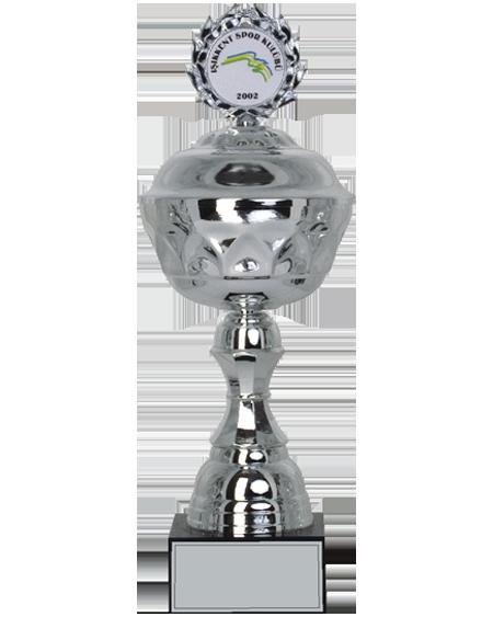 Gümüş Renkli Logolu Kupa - MK 06