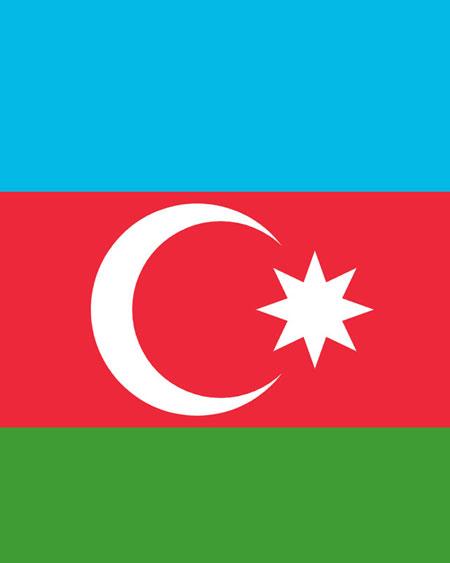 AZERBAYCAN BAYRAĞI